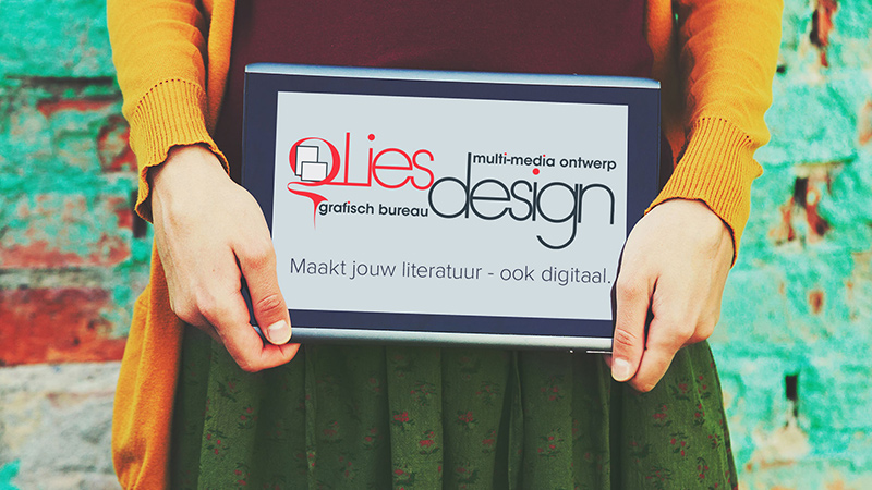 """Featured image for """"LiesDesign nieuwe site!"""""""