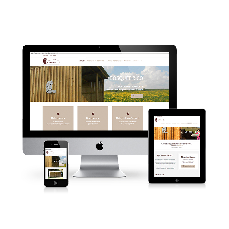"Featured image for ""Meertalige website Bosquee&co"""